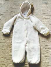 Unisex Girl Boy Fluffy Fleece Snowsuit Age 2-3 Lovely & Think/Warm For Winter