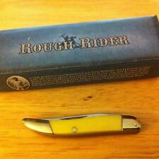 "Rough Rider 2"" Tiny Toothpick Yellow Synthetic Handle Pocket Knife RR979"