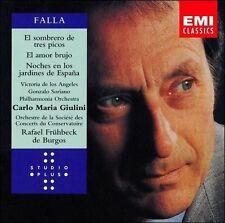 Falla: El Amor Brujo; Sombrero de tres picos; Noches en los jardines de...