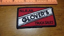 VINTAGE N. L .A AR. GLOVER'S TRUCK SALES   PETERBILT MACK FREIGHTLINER BX 12 #25