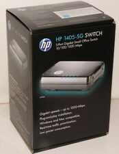 HP 1405-5G Switch 5-Port Gigabit Small Office 10/100/1000 Mbps Brand New Retail
