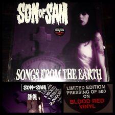SON OF SAM~1st LP/Press/PostCard/Sticker~SEALED~punk AFI Samhain tiger army