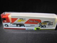 MINICHAMPS 870964350 Renntransporter Team Rosberg Old Spice NEU&OVP SC-0927