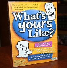 What's Yours Like? The Game That Tells It Like It Is!  Great Group Party Game!
