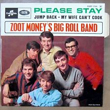 ZOOT MONEY'S BIG ROLL BAND Please Stay EP RARE FRENCH PS MINT/MINT!