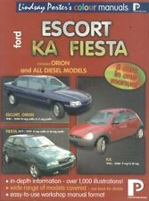 FORD ESCORT MK3-MK5 FIESTA MK1-MK4 & KA PETROL/DIESEL 1980-2000 WORKSHOP MANUAL