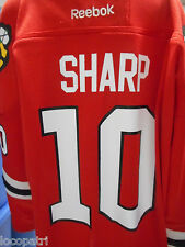 Reebok NHL Chicago Blackhawks Patrick Sharp Youth Hockey Jersey NWT L/XL