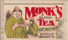 Monk's Blend Tea - 25 Bags - Decorative Wooden Box