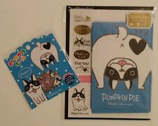 Mind Wave Pumpkin Pie Kawaii Letter Set sticker flake sack Boston terrier