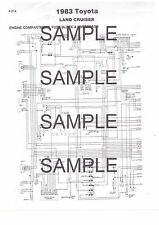 1983 VANAGON & VANAGON DIESEL 83 COLOR CODED CHASSIS WIRING DIAGRAM 83BK 4PGS