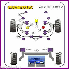 Opel Astra MK4 G (98-04) SRi & GSi Z20LET Powerflex Suspension Bush Kit