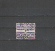 B4404 - LUOGOTENENZA -SEGNATASSE N. 90 - QUARTINA USATA
