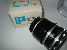 MINOLTA SR/T PANAGOR AUTO EXTENTION TUBE SET, MACRO, MICRO