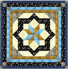 Ezy Quilt Kit/Constellation/Planets and Stars/Pre-cut Fabrics Ready To Sew****