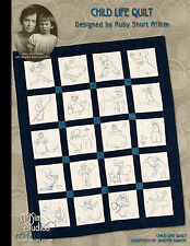 Ruby Short McKim's Child Life Quilt Pattern Book • Collector's Edition