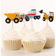 24 Pcs Cupcake Cup Cake Decorating Toppers PARTY DECORATION Car Style