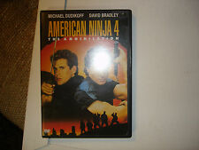 American Ninja 4 The Annihilation (DVD, 1990)  RARE OOP