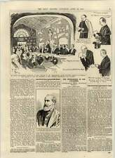 1892 Commendatore Rossi Interpreter Catacombs Sir Alexander Hood