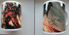 Warhammer 40k WFB AoS Warhammer World Only Khorne Chaos Daemons Bloodletter Mug