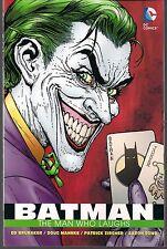 BATMAN THE MAN WHO LAUGHS DC SOFTCOVER OGN TPB 1st BATTLE vs JOKER BRUBAKER NEW