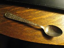 Ethiopia Spoon - Vintage 1960's Horn Of Africa Country Old Travel Souvenir Spoon