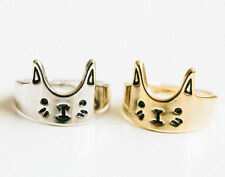 New Fashion  Silver Plated Lovely Cat Ring