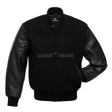 Varsity Letterman College Baseball Jackets, Wool body & Leather Sleeves