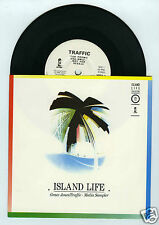 45 RPM SP PROMO GRACE JONES / TRAFFIC ISLAND LIFE MEDIA SAMPLER