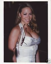 MARIAH CAREY AUTOGRAPH SIGNED PP PHOTO POSTER