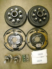 7,000# Build Your Own Axle Kit W/ Electric Brakes Drum Hub Trailer
