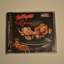 TED NUGENT - Love grenade - 2007 CD JAPAN 1 S/T PRESS