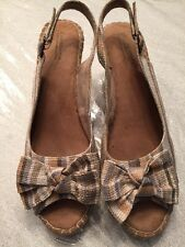 Croft And Barrow Open Toed Shoes Size 91/2