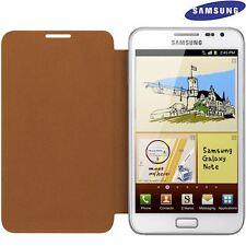 Samsung Original EFC-1E1COE - Funda Flip cover Galaxy Note i9220 N7000, Naranja