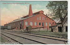 Lithograph - New Martinsville, WV - Glass Factory - 1911