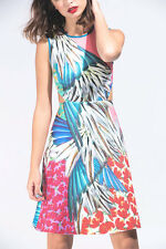 NWT CLOVER CANYON Carnival side cutouts dress size S - $280