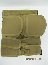 Paraclete Personal Body Armor Removable Back Panel Zip-Velcro  Coyote IFAK