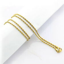 Fashion 18-32inch Rose/Gold/Silver Color Stainless Chain Men Necklace Findings