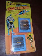 Vintage Superfriends Batman Superman Code Flasher Gordy DC Comic Rare MOC 1978