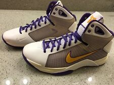 Nike Kobe Promo Hyperdunk Supreme size 10.5 Home Edition Kb 2008 lakers