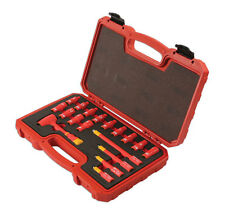 LASER TOOLS 6145 INSULATED HYBRID VDE 1/4 SOCKET SET EXTENSION RATCHET TOOL KIT
