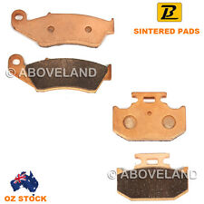 FRONT REAR Sintered Brake Pads for SUZUKI DR 250 Djebel 250 SJ45A 1996-1997 1998