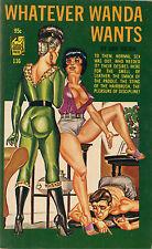 Vintage Sleaze PB Paperback Whatever Wanda Wants Satan Press ENEG Gene Bilbrew