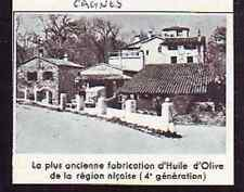 1963  --  CAGNES  PLUS ANCIENNE FABRICATION HUILE OLIVE