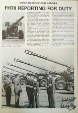 General Sir Harry Tuzo- Signed Magazine Page