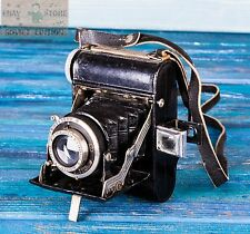 VINTAGE FOLDING PHOTO CAMERA  PLAUBEL ANTICOMAR 1:3.5 f=7.5 cm ORIGINAL OLD RARE