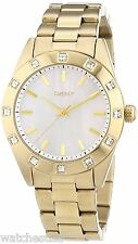 DKNY NY8661 Mother of Pearl Dial Gold Stainless Steel Band Women Watch