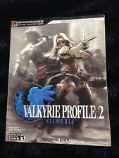 Official Valkyrie Profile 2 Silmeria Bradygames  Game Strategy Guide PS2