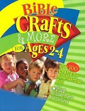 Bible Crafts & More for Ages 2-4 Craft and Pattern Books)