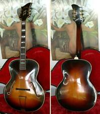 Rare & Vintage LEVIN ROYAL archtop jazz guitar from 1942  --  look!
