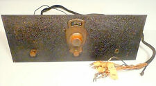 vintage *FRESHMAN MASTERPIECE model K-3 BATTERY RADIO part: UNTESTED CHASSIS